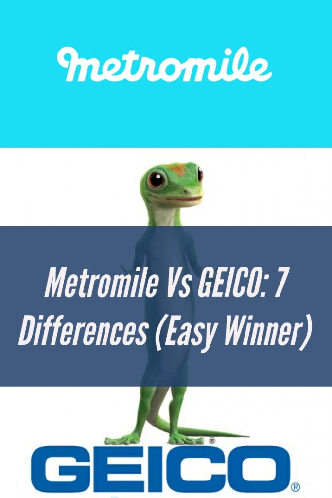 Geico Low Mileage Discount >> Metromile Vs Geico 7 Insurance Differences Easy Winner
